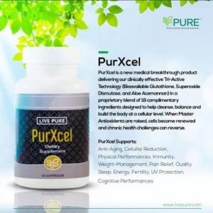 Live Pure Purxcel Capsules- Advanced Glutathione Dietary Supplement